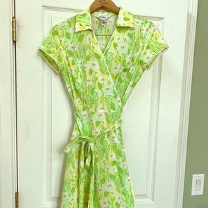 Lilly Pulitzer vintage wrap dress